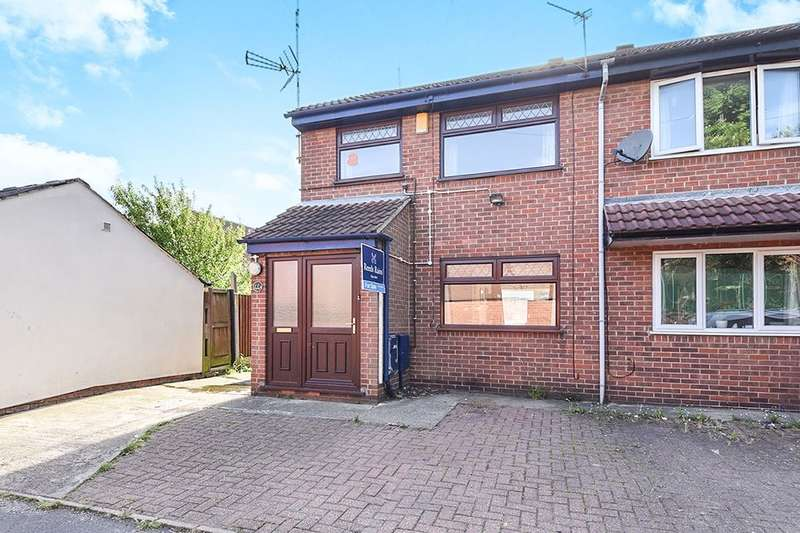 3 Bedrooms Semi Detached House for sale in Mill Lane, RIPLEY, DE5