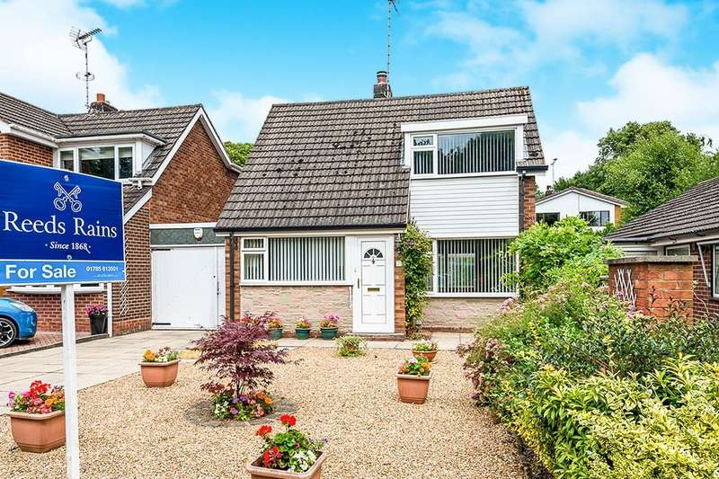 2 Bedrooms Detached Bungalow for sale in Flax Croft, Stone, ST15
