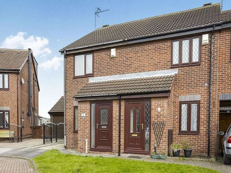 2 Bedrooms Semi Detached House for sale in Lawsons Close, Hull, HU6