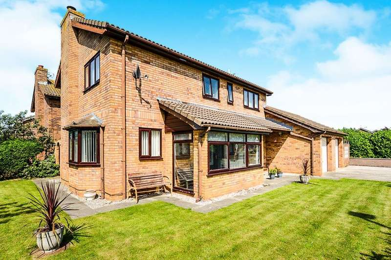4 Bedrooms Detached House for sale in Ffordd Y Berllan, Towyn, Abergele, LL22