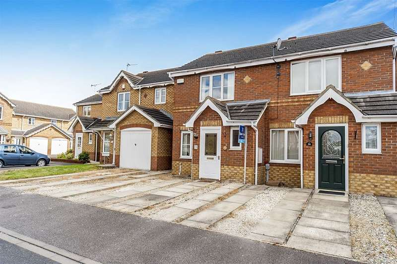 2 Bedrooms Semi Detached House for sale in Lavender Close, Kingswood, Hull, HU7