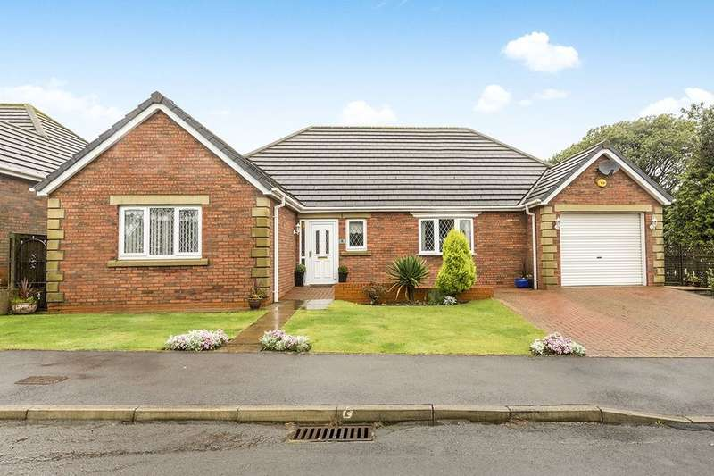 3 Bedrooms Detached Bungalow for sale in Edwards Walk, Burnhope, Durham, DH7