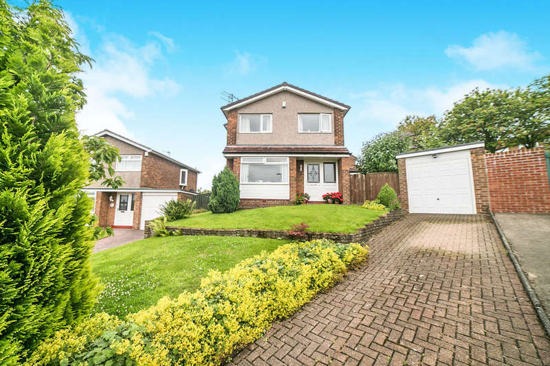 3 Bedrooms Detached House for sale in Hillcrest Drive, Dunston, Gateshead, NE11