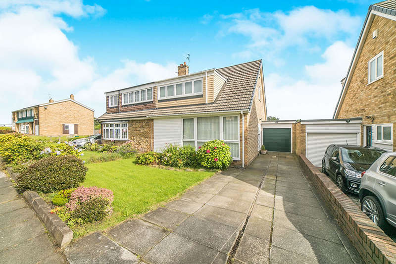 3 Bedrooms Semi Detached House for sale in Warwick Avenue, Whickham, NEWCASTLE UPON TYNE, NE16