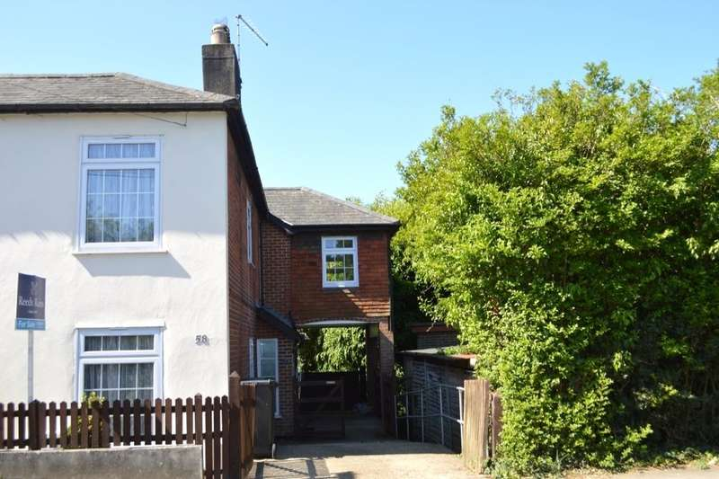3 Bedrooms Semi Detached House for sale in Whichers Gate Road, Rowland's Castle, PO9