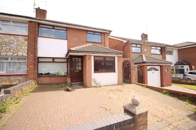 3 Bedrooms Semi Detached House for sale in Hinckley Road, St. Helens, WA11