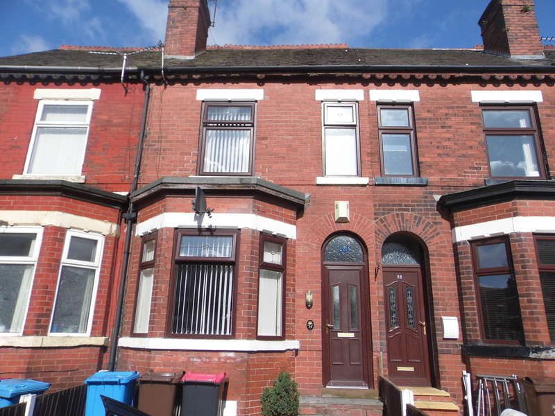 4 Bedrooms Terraced House for sale in Elleray Road, Salford, M6