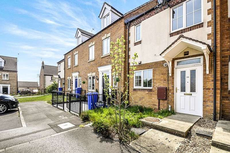 2 Bedrooms Terraced House for sale in Gleadless Rise, Sheffield, S12