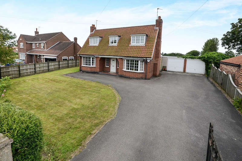 3 Bedrooms Detached House for sale in Dormer Cottage York Road, Elvington, York, YO41