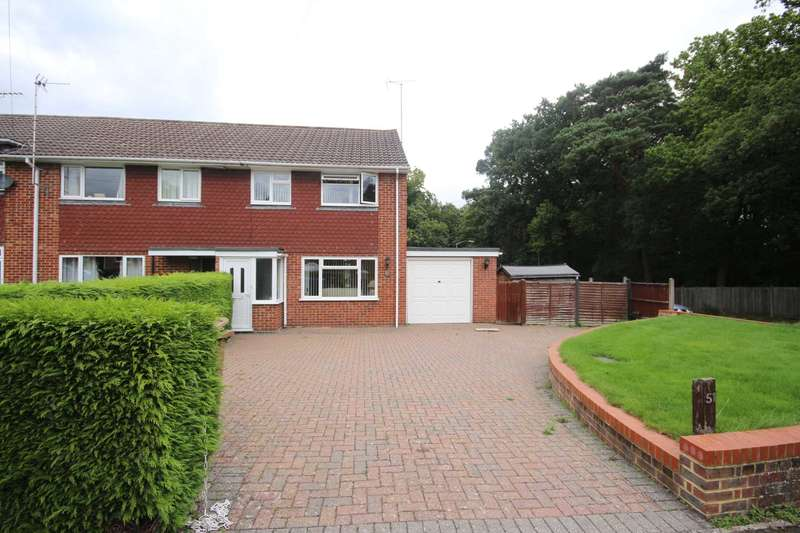 3 Bedrooms End Of Terrace House for sale in North Road, Chavey Down