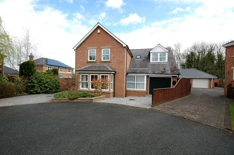 4 Bedrooms Detached House for sale in Rough Lea, Hunwick, County Durham, DL15