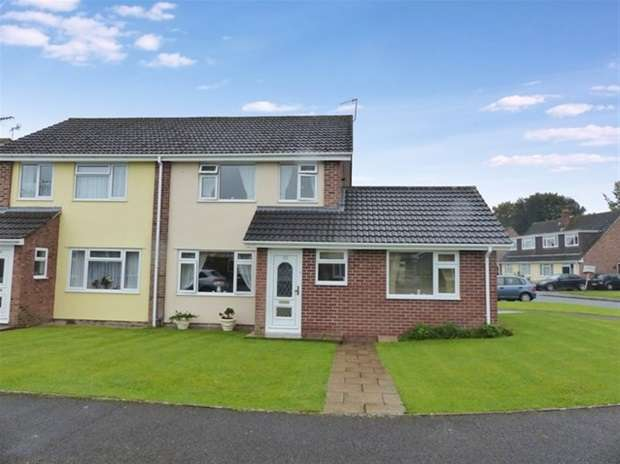4 Bedrooms Semi Detached House for sale in Ruskin Drive, Warminster