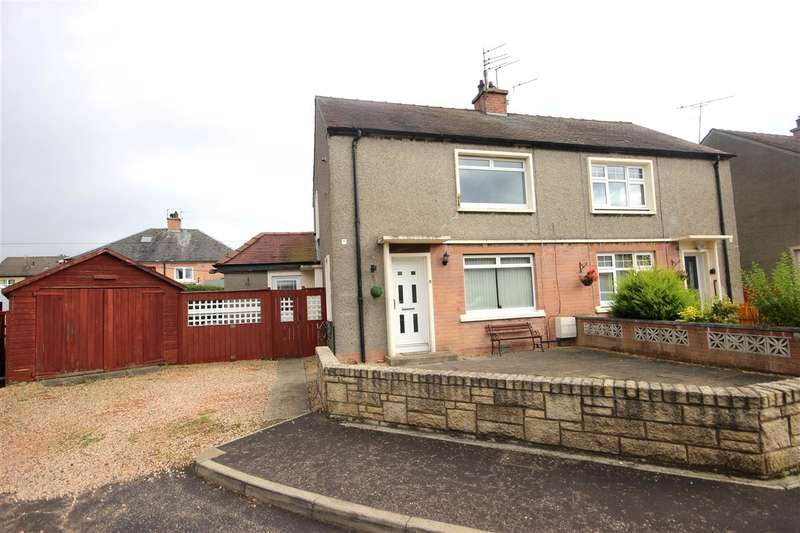 2 Bedrooms Semi Detached House for sale in Abercairney Place, Grangemouth