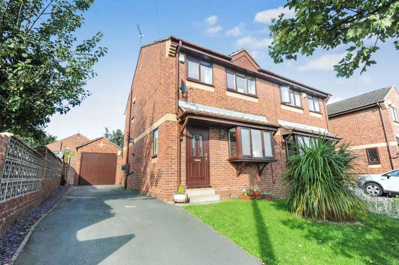 3 Bedrooms Semi Detached House for sale in Owlett Mead, Thorpe, Wakefield, WF3