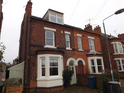 4 Bedrooms Semi Detached House for sale in Holme Road, West Bridgford, Nottingham, Nottinghamshire