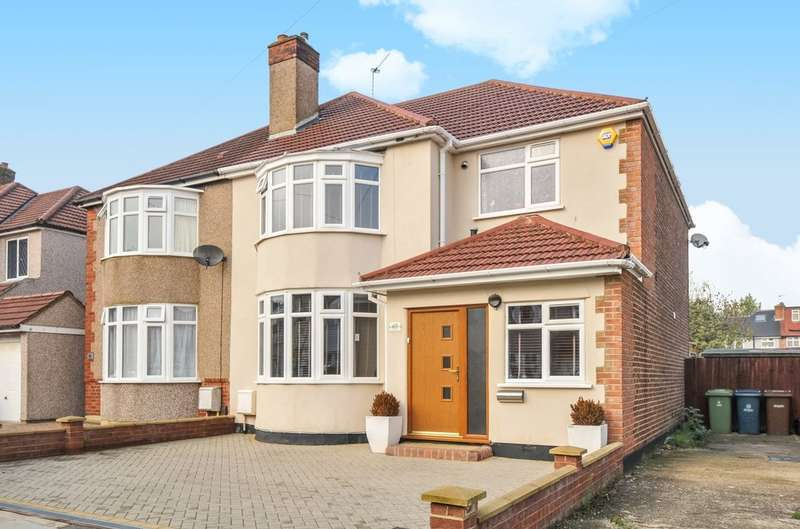 4 Bedrooms Semi Detached House for sale in Chestnut Drive, Pinner