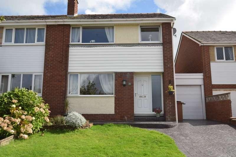 3 Bedrooms Semi Detached House for sale in Redoak Avenue, Barrow-in-Furness, Cumbria, LA13 0JU
