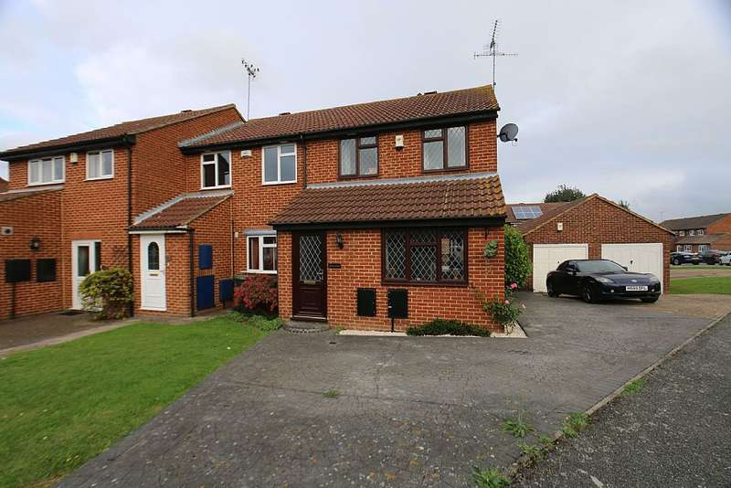 2 Bedrooms End Of Terrace House for sale in Armoury Drive, Gravesend, Kent, DA12 1LZ