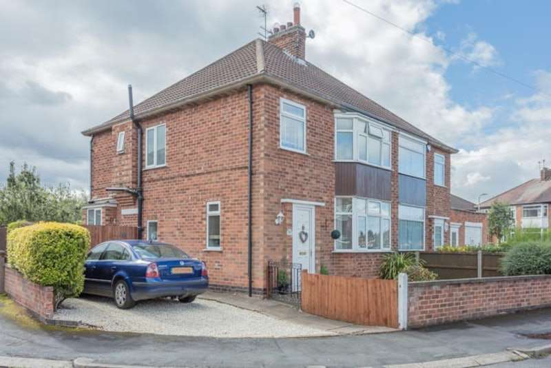 3 Bedrooms Semi Detached House for sale in Lambourne Road, Leicester, Leicestershire, LE4