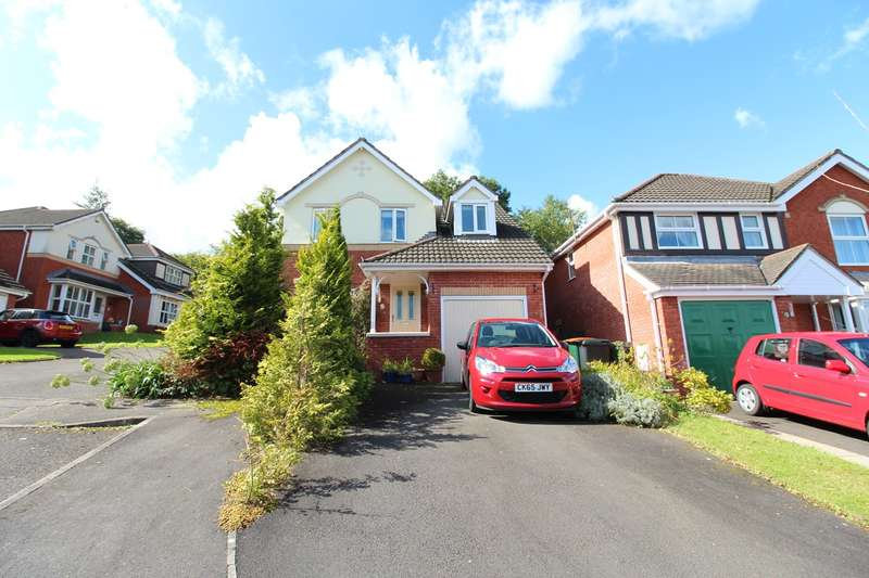3 Bedrooms Detached House for sale in Allt-Yr-Yn Heights, Newport, NP20