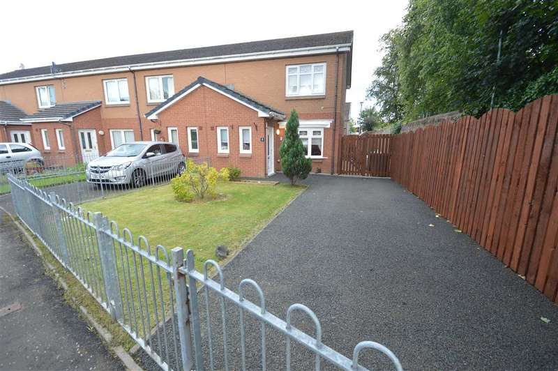 2 Bedrooms End Of Terrace House for sale in Flannigan Grove, Bellshill