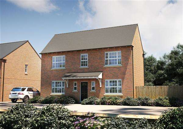 3 Bedrooms Detached House for sale in The Seabrook, Seabrook Orchard, Topsham