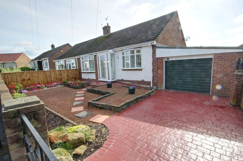 2 Bedrooms Semi Detached Bungalow for sale in Bourn Lea, Houghton Le Spring, DH4