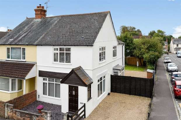 3 Bedrooms Semi Detached House for sale in Wescott Road, WOKINGHAM, Berkshire