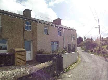 3 Bedrooms End Of Terrace House for sale in Glanrafon Terrace, Nebo, Caernarfon, Gwynedd, LL54
