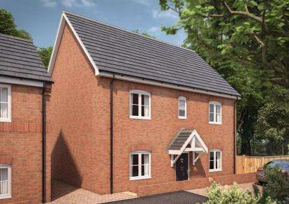 4 Bedrooms Detached House for sale in Moorbrooke, 12 Silverbirch Close, Hartshill, Nuneaton