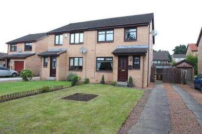 3 Bedrooms Semi Detached House for sale in Crossview Avenue, Baillieston, Glasgow, Lanarkshire