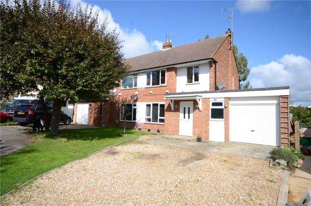 3 Bedrooms Semi Detached House for sale in Lismore Close, Woodley, Reading