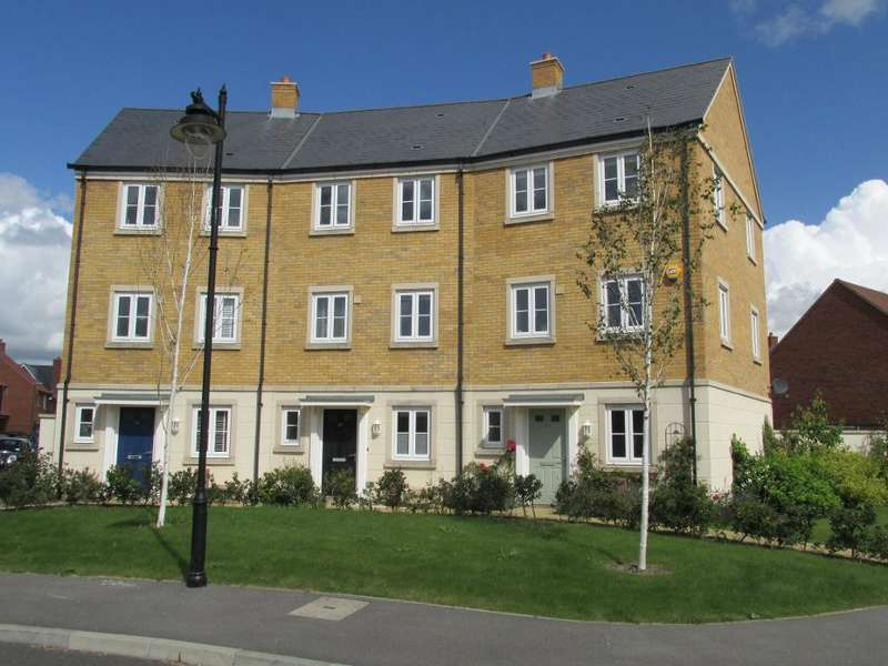 4 Bedrooms Terraced House for sale in Elbridge Avenue, Willows Edge, North Bersted, Bognor Regis, West Sussex, PO21 5AD