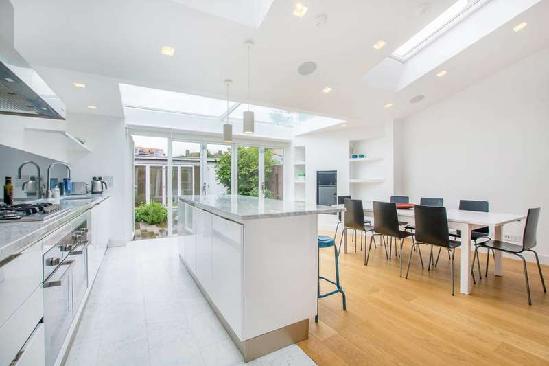 4 Bedrooms End Of Terrace House for sale in Southfield Road, Chiswick, W4
