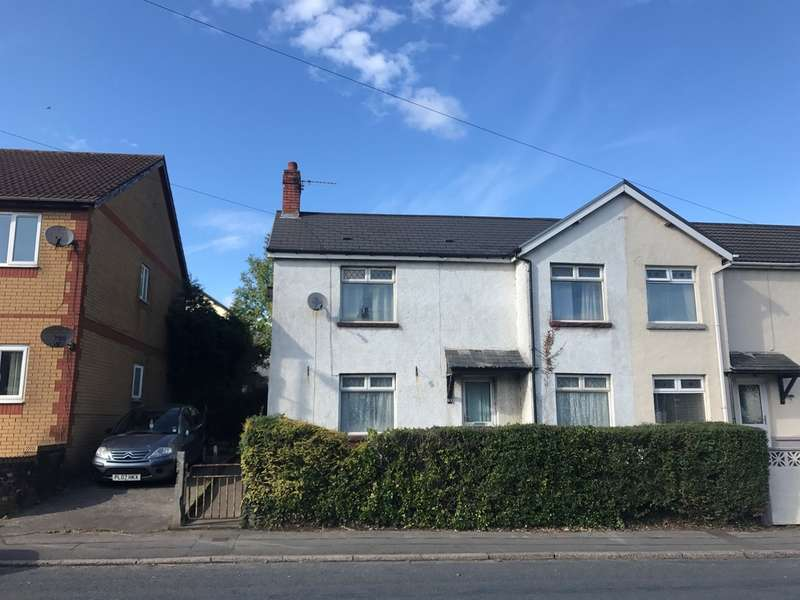 3 Bedrooms Semi Detached House for sale in Pantglas View, Trethomas, Caerphilly