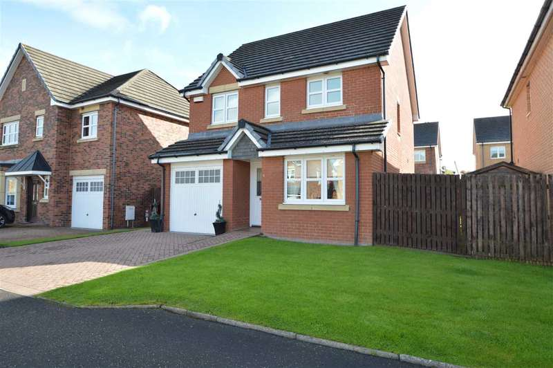 3 Bedrooms Detached House for sale in Morven Drive, Motherwell