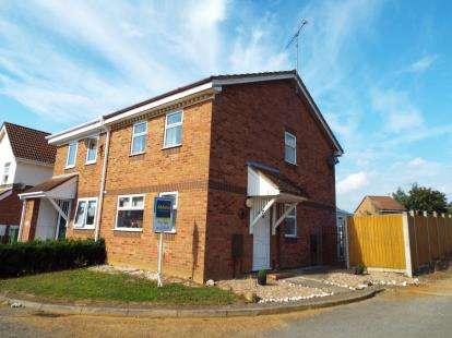 3 Bedrooms Semi Detached House for sale in Churchill Park, Kings Lynn, Norfolk