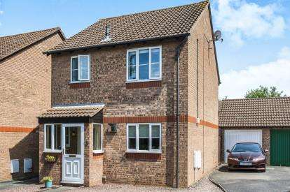 3 Bedrooms Link Detached House for sale in Trajan Close, Abbeymead, Gloucester, Gloucestershire