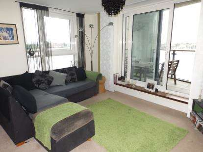 2 Bedrooms Flat for sale in Dovercourt House, Ferry Court, Cardiff, Caerdydd