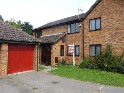 2 Bedrooms Terraced House for sale in Lullingstone Drive, Bancroft Park, Milton Keynes, Buckinghamshire