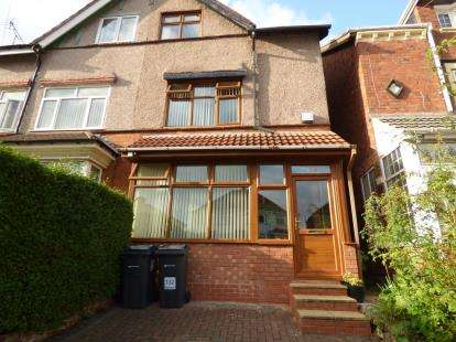 4 Bedrooms Semi Detached House for sale in Manor Road, Stechford, Birmingham, West Midlands
