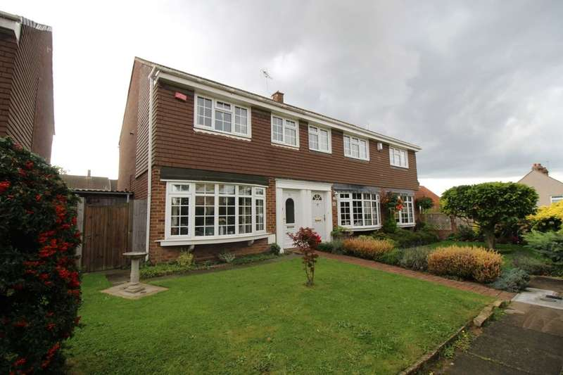 3 Bedrooms Semi Detached House for sale in The Marlowes, Bexleyheath Borders, DA6