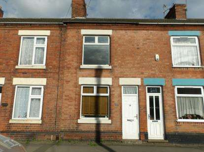 3 Bedrooms Terraced House for sale in Belvoir Road, Coalville