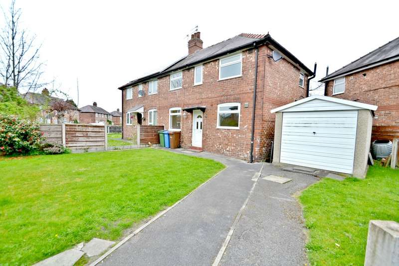 3 Bedrooms Semi Detached House for sale in Ash Avenue, Cheadle