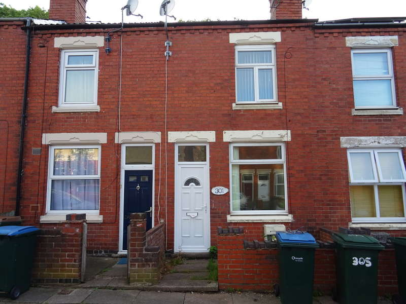 3 Bedrooms Terraced House for sale in St Georges Road, Stoke