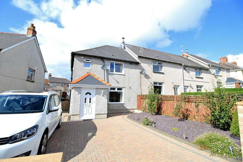 3 Bedrooms End Of Terrace House for sale in Markham Crescent, Oakdale, Blackwood, NP12