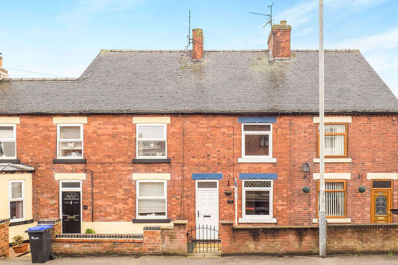 2 Bedrooms Terraced House for sale in Portland Road, Selston, Nottingham, NG16