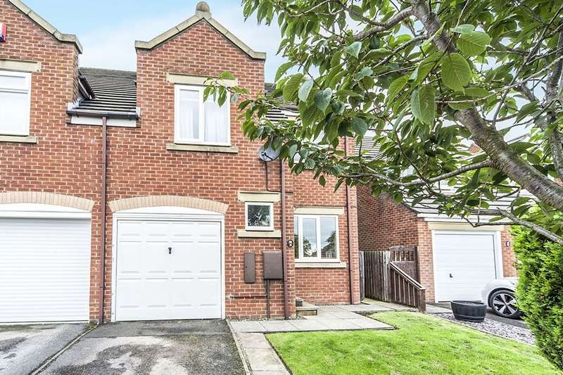 3 Bedrooms Semi Detached House for sale in Highfield Rise, Chester Le Street, DH3