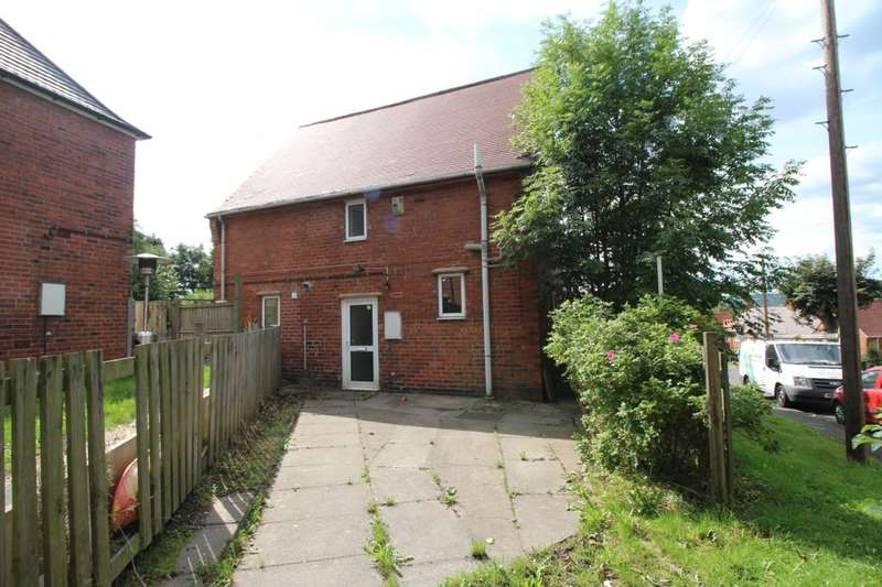 3 Bedrooms Semi Detached House for sale in Walgrove Avenue, Chesterfield, S40