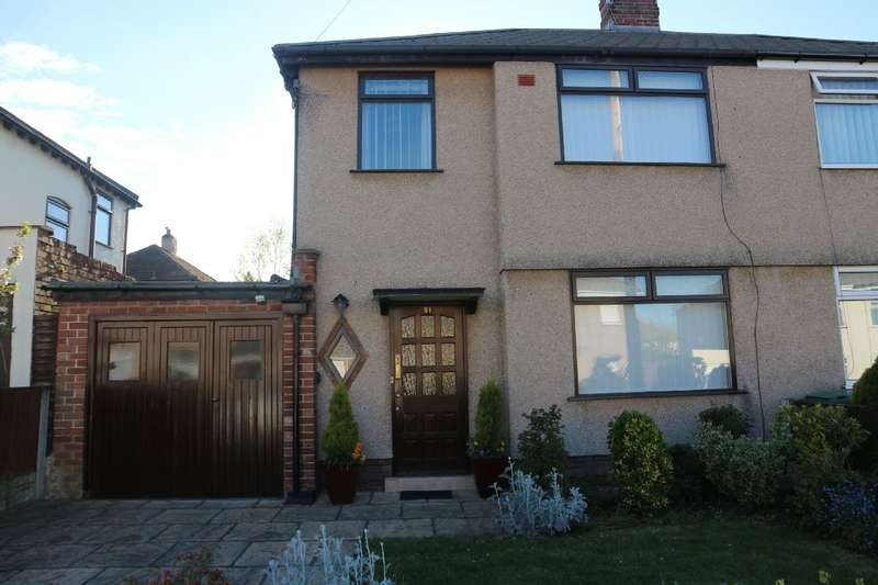 3 Bedrooms Semi Detached House for sale in Linkside Road, Liverpool, L25